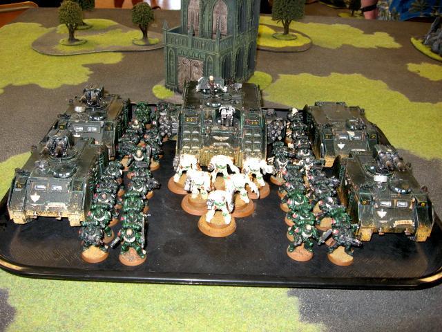 Army, Dark Angels, Space Marines, Warhammer 40,000