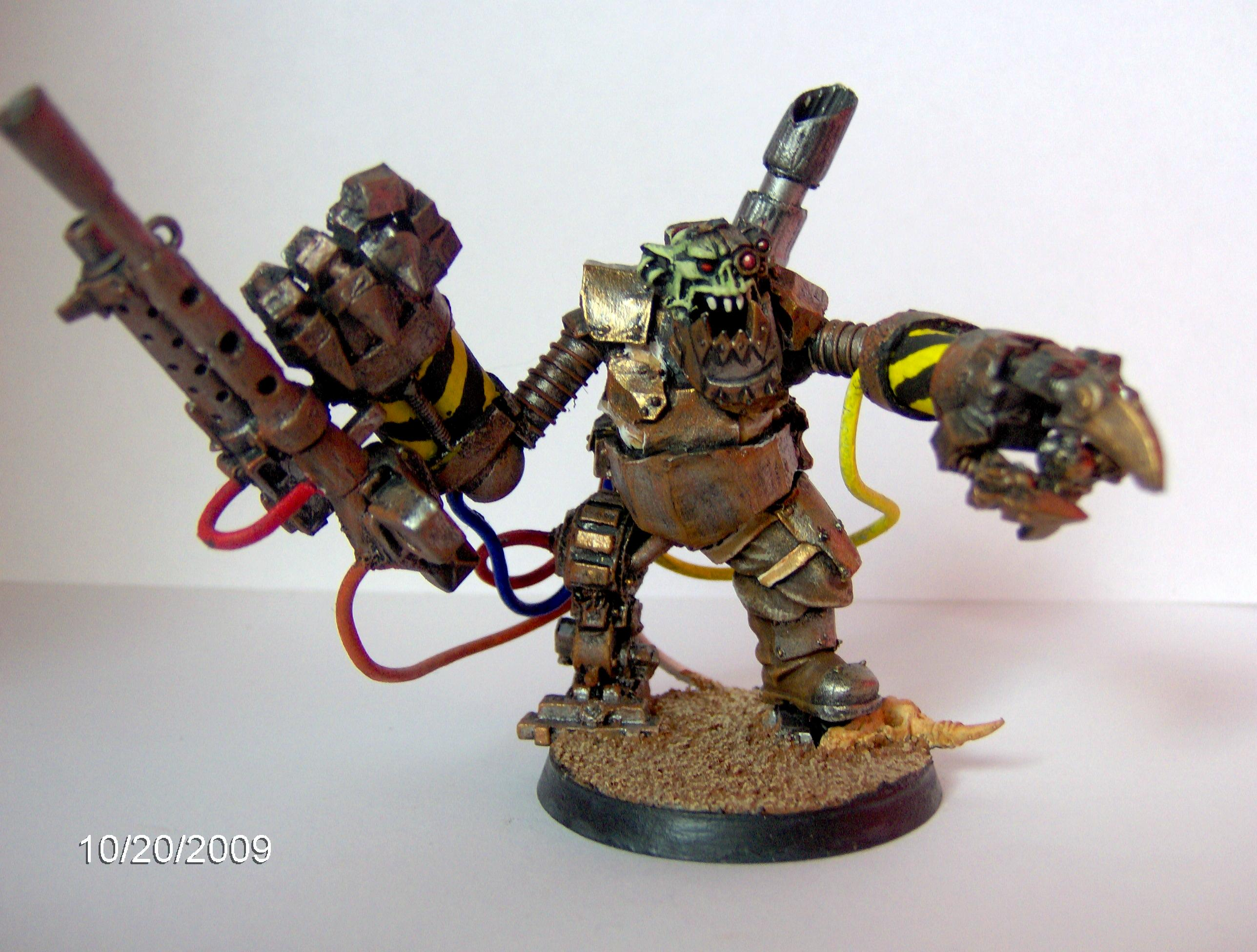 Cyborg, Cybork, Orks, Warboss