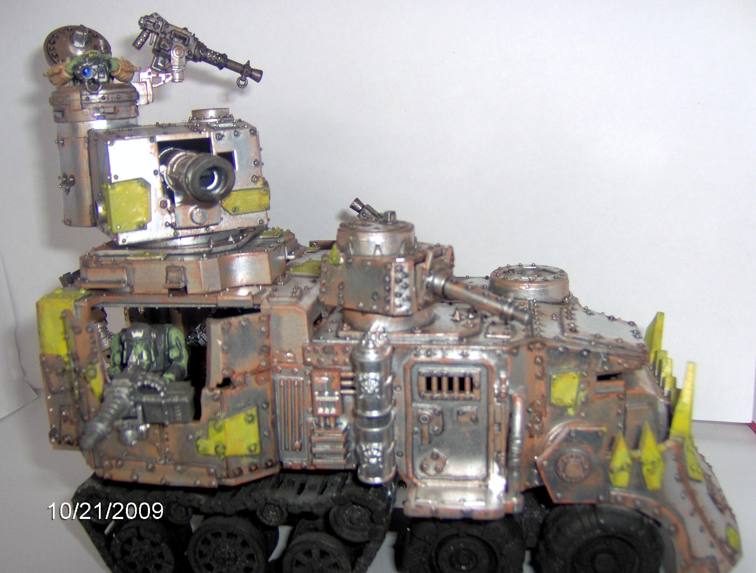 Battlewagon, Orks, Shiney