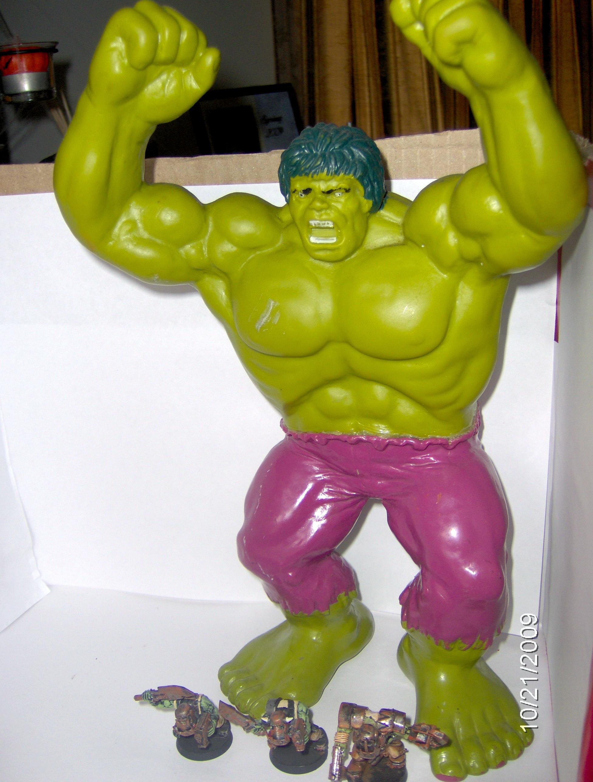 Orks, Space Hulk, Superhero