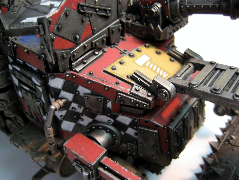 Battlewagon, Orks, Warhammer 40,000, Weathered