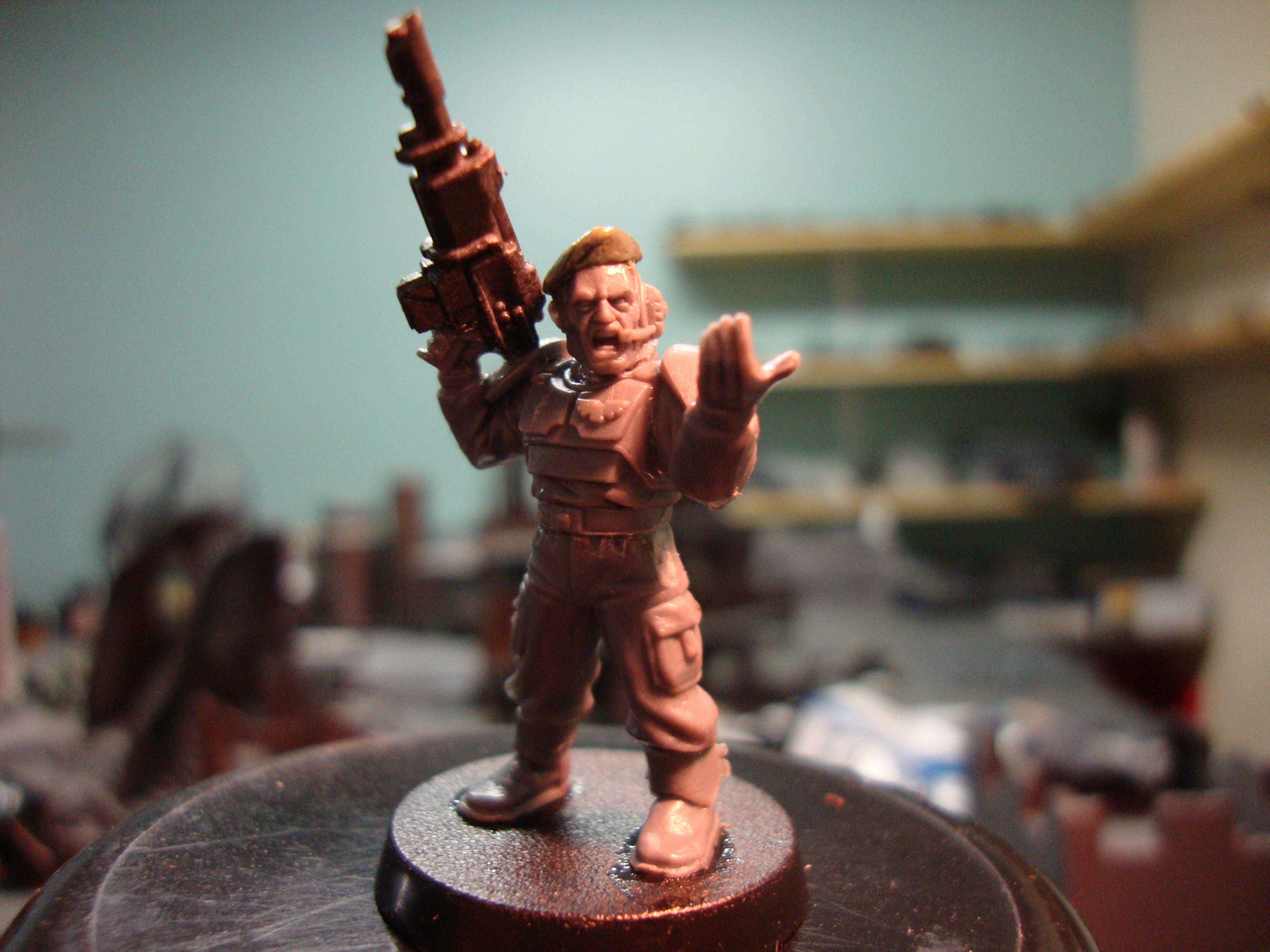 Work In Progress, Tank Crewman WiP