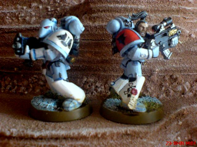 Ice, Ice Wolves, Power Armour, Reaper6, Space Marines, Wolves