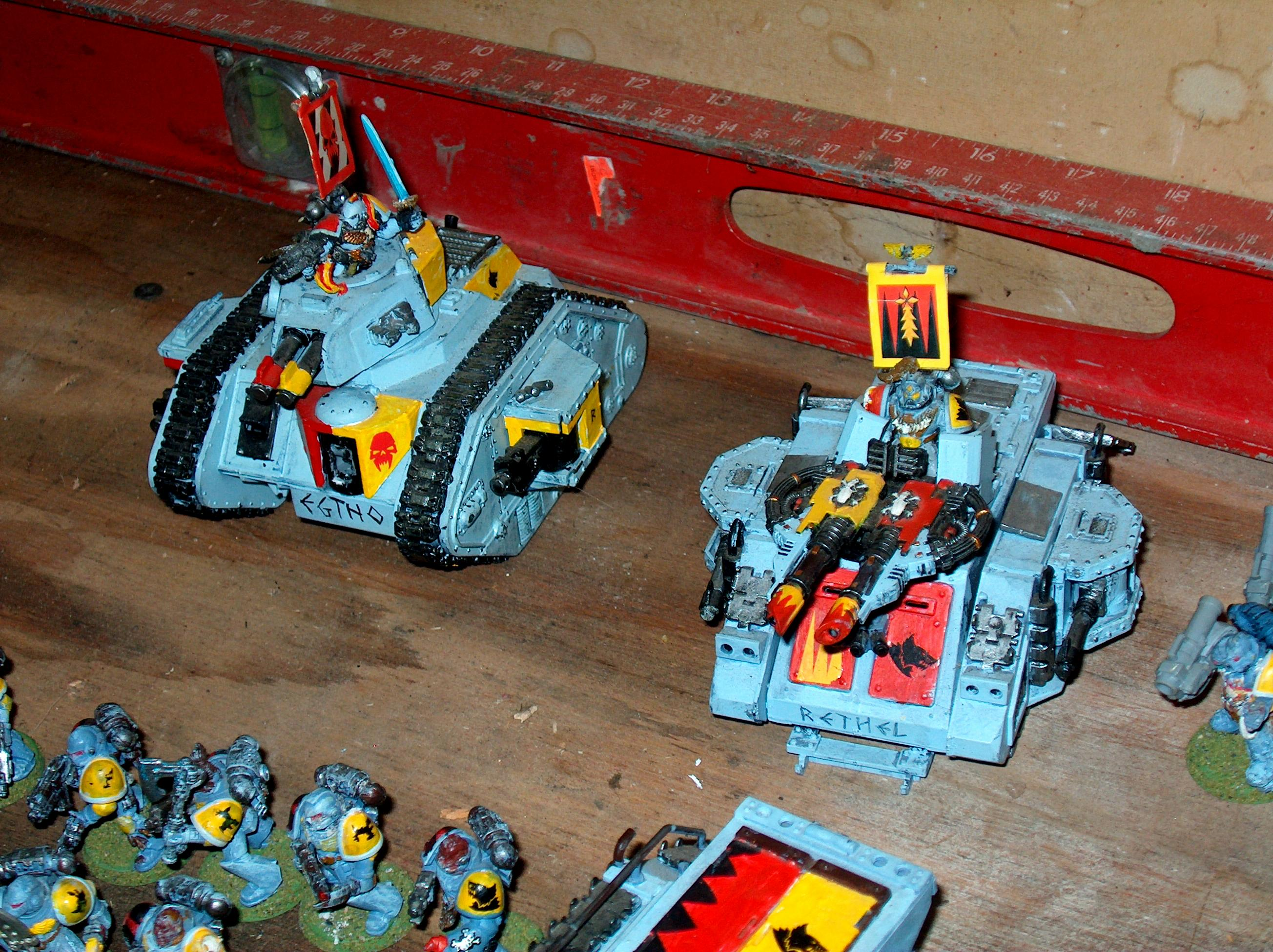 Space Wolves, SW Tanks