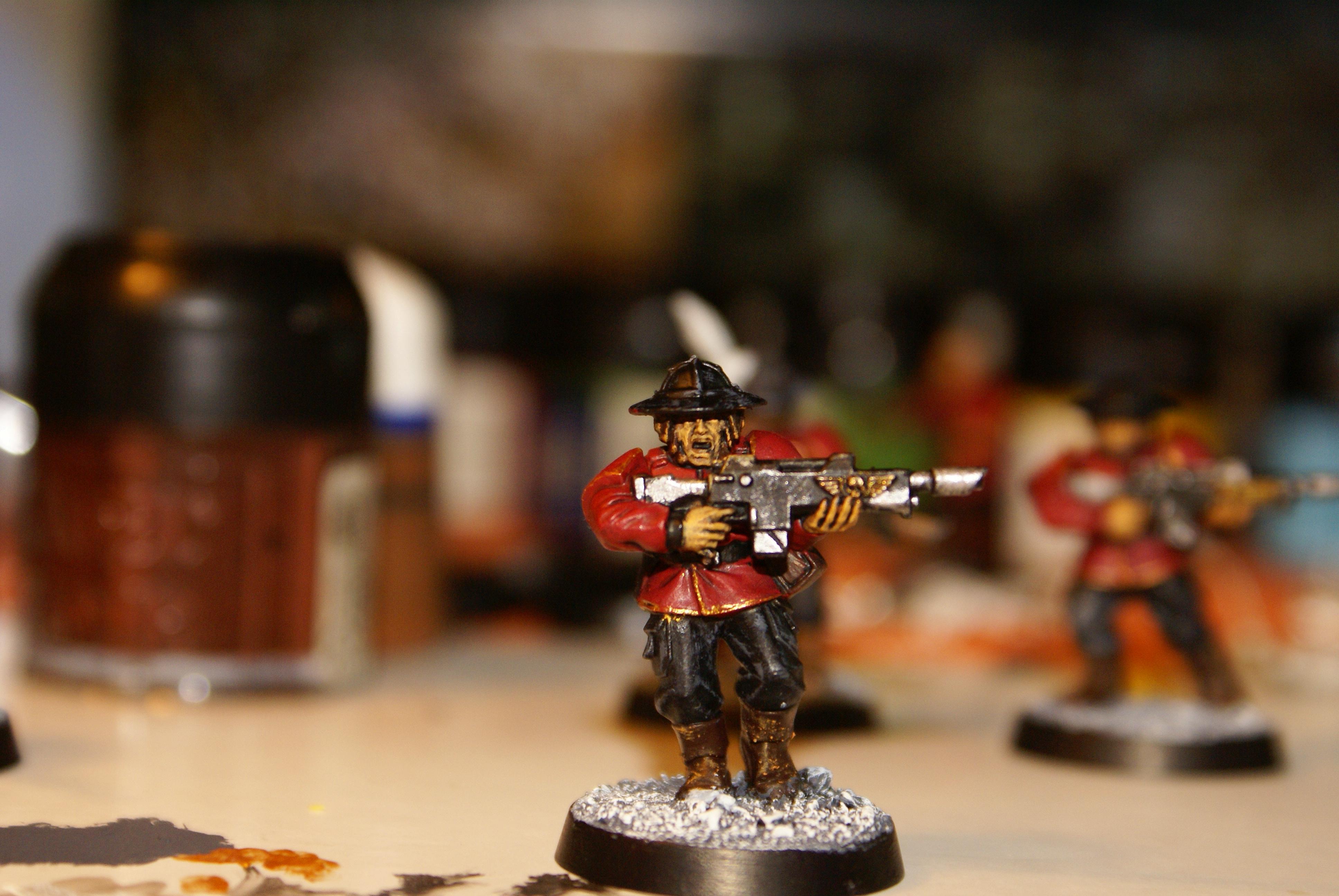 Conversion, Guardsmen, Imperial Guard, Warhammer 40,000
