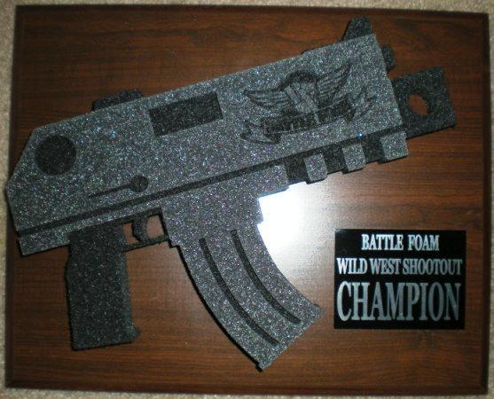 Award, Battlefoam, Bolter, Wild West Shootout