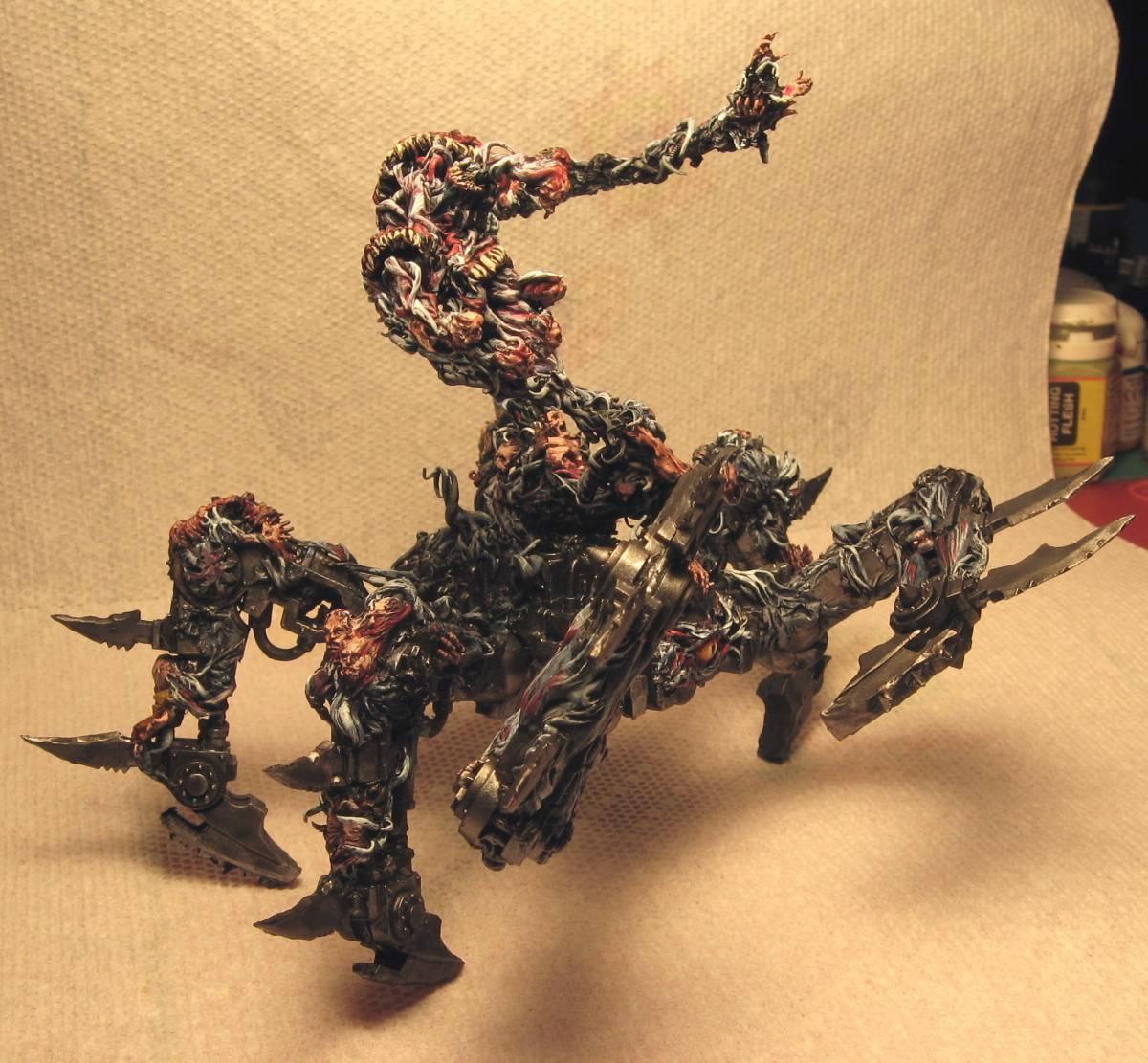 Chaos Daemons, Conversion, Daemons, Soul Grinder, Tentacles