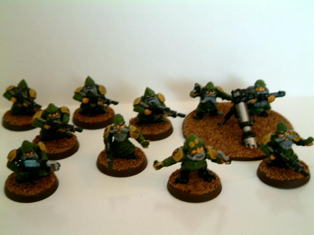 Brown, Classic, Conversion, Dwarves, Green, Guard, Imperial, Imperial Guard, Old, Out Of Production, Rogue, Squats, Trader, Warhammer 40,000