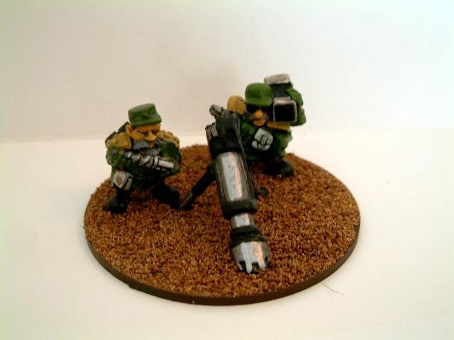 Brown, Classic, Conversion, Dwarves, Green, Guard, Imperial, Imperial Guard, Mole Mortar, Old, Out Of Production, Rogue, Squats, Trader, Warhammer 40,000
