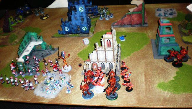 Battle, Report, SCS Game 1 Set up 2