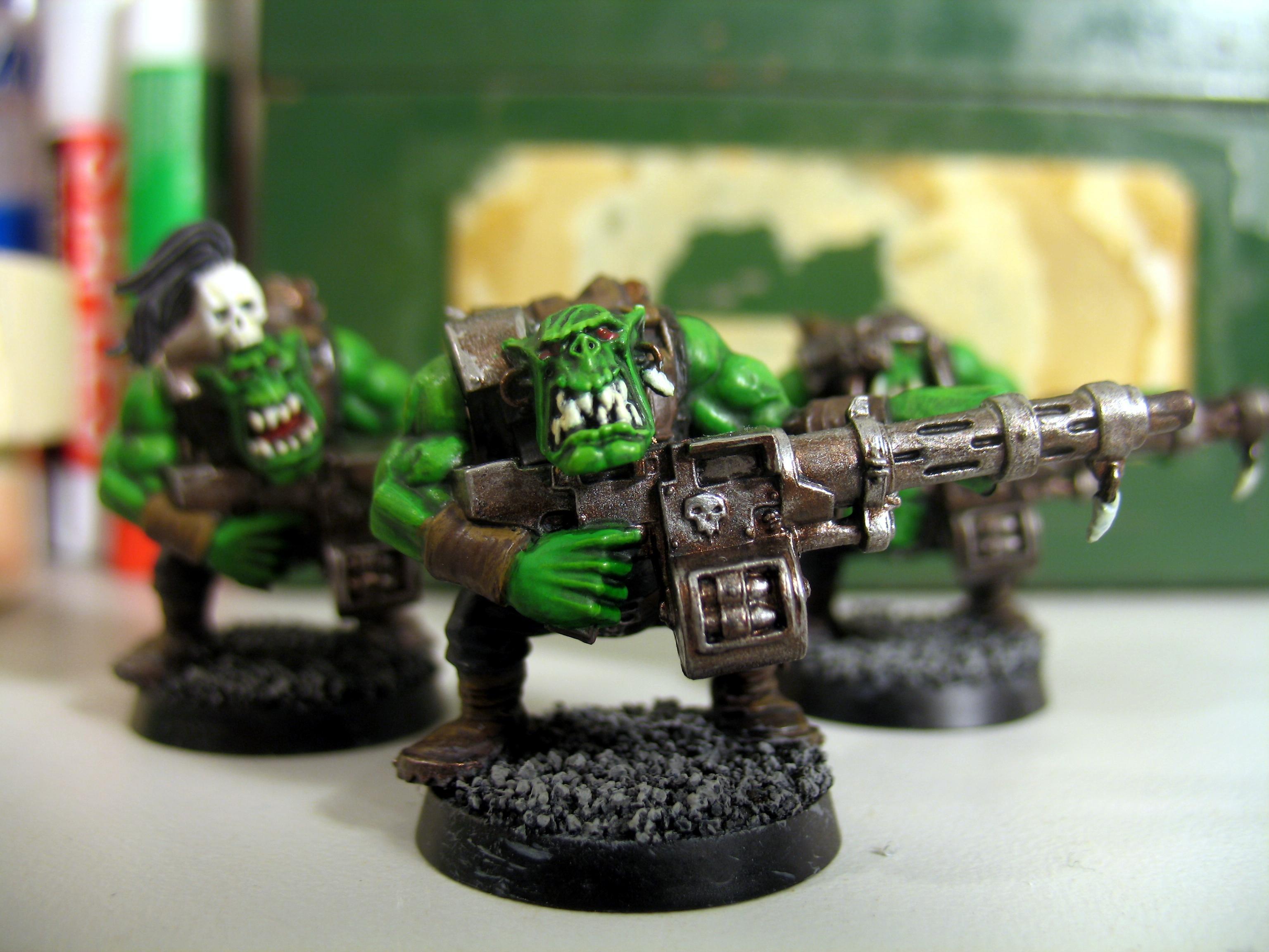 Big Shoota, Boy, Boys, Orks