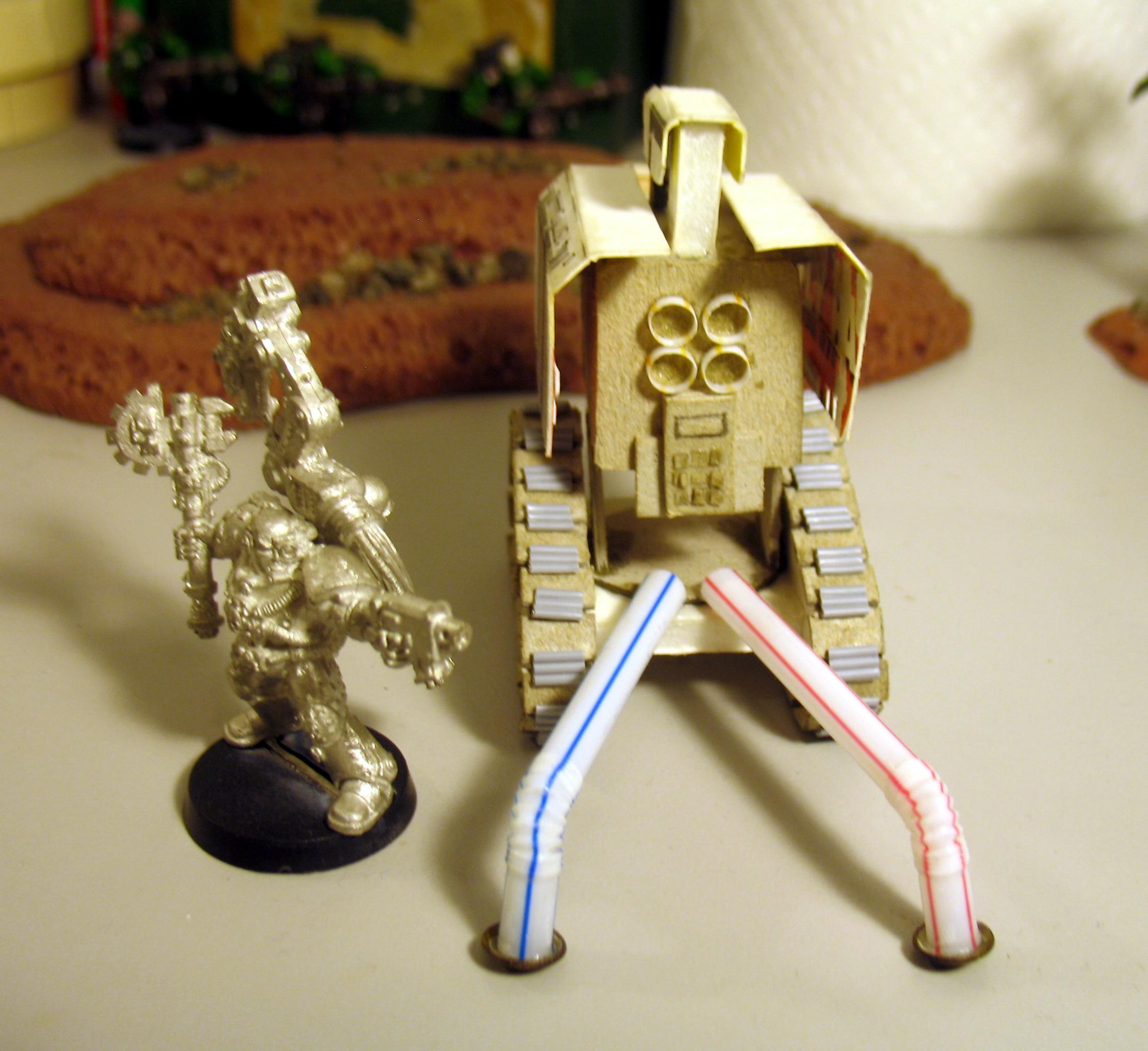 Cannon, Space Marines, Thunderfire