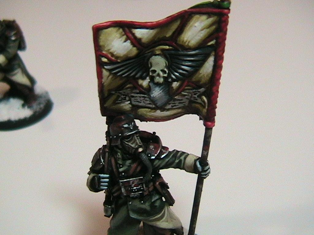 Banner, Death Korps of Krieg, Freehand