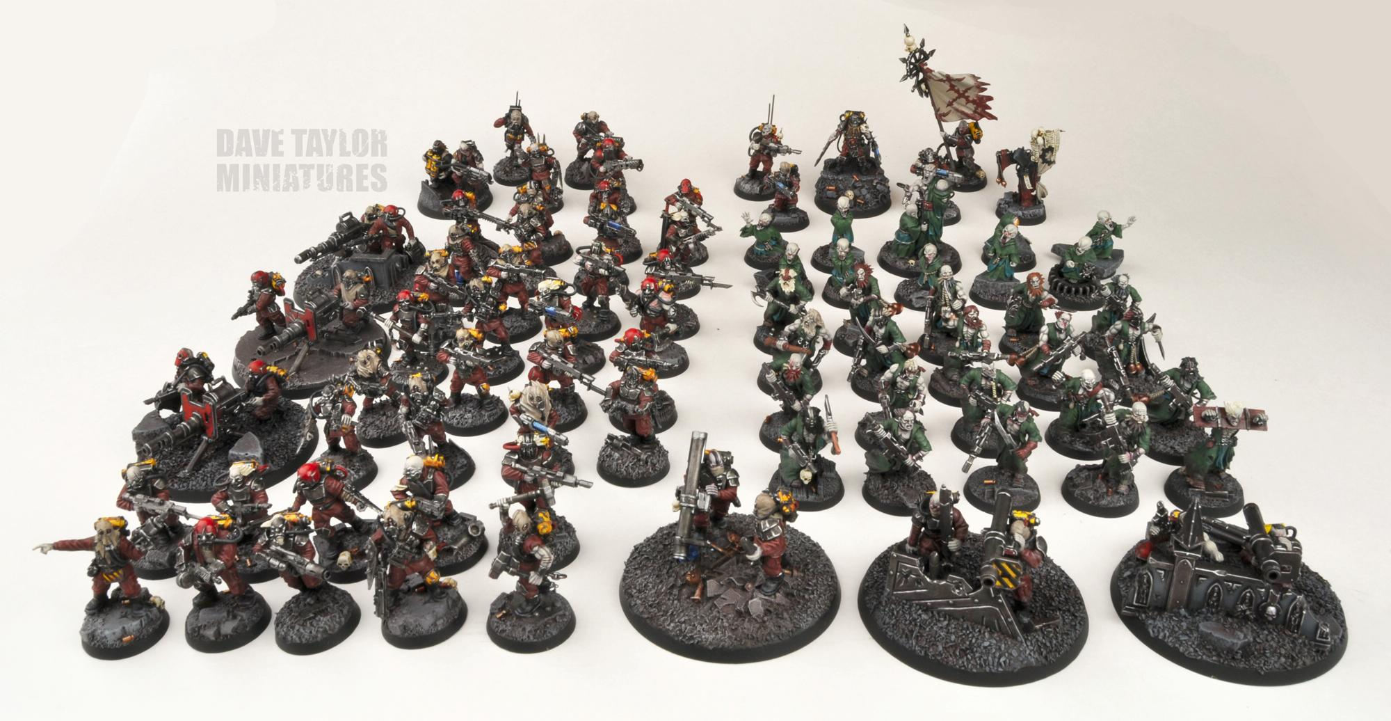 Blood Pact, Imperial Guard, Lost And The Damned, Traitor