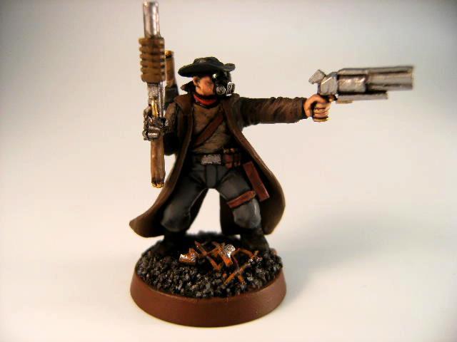 =][=munda, Bountry Hunter, Cowboy, Necromunda