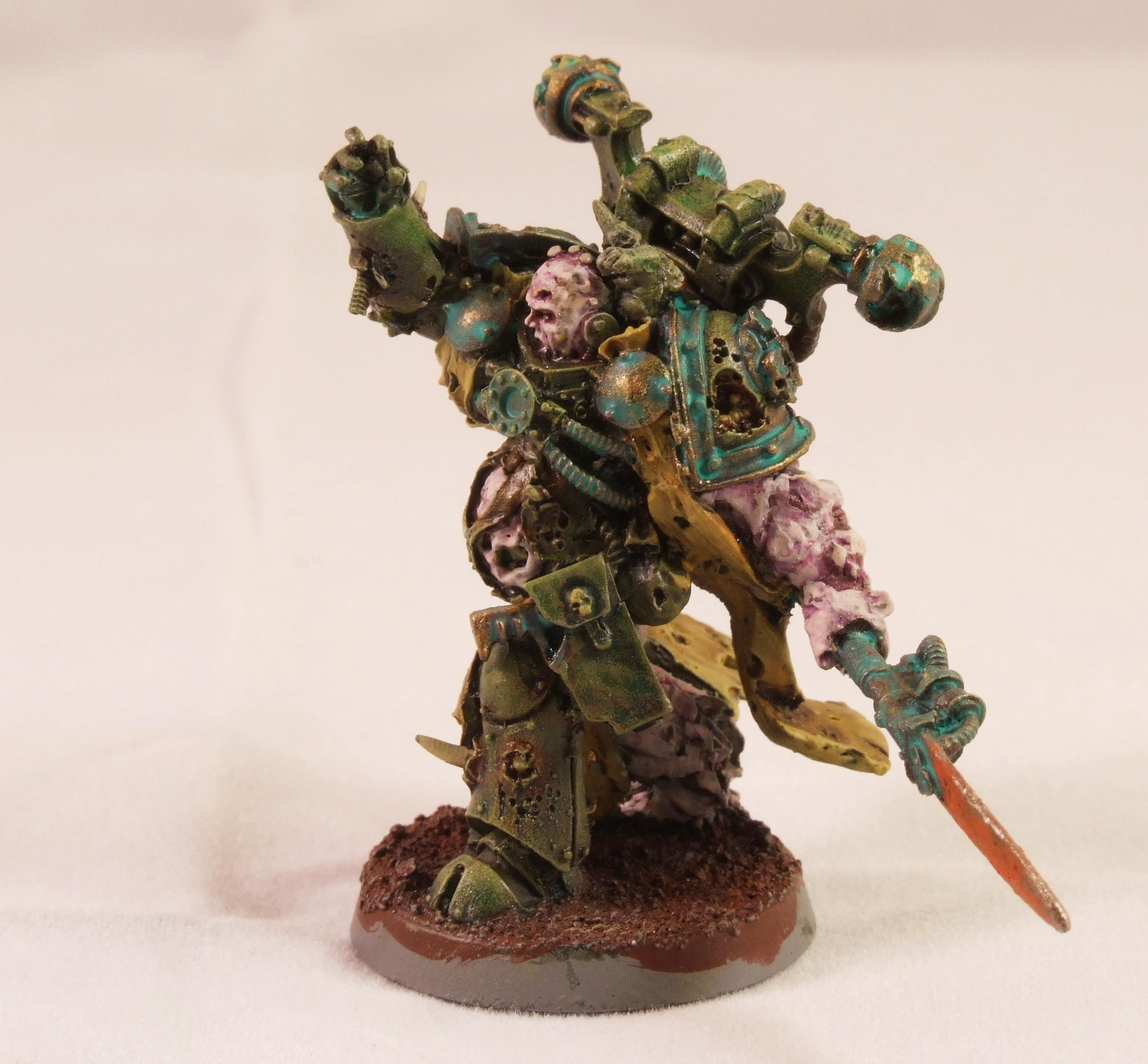 Chaos Space Marines, Death Guard, Plague Marines, Warhammer 40,000