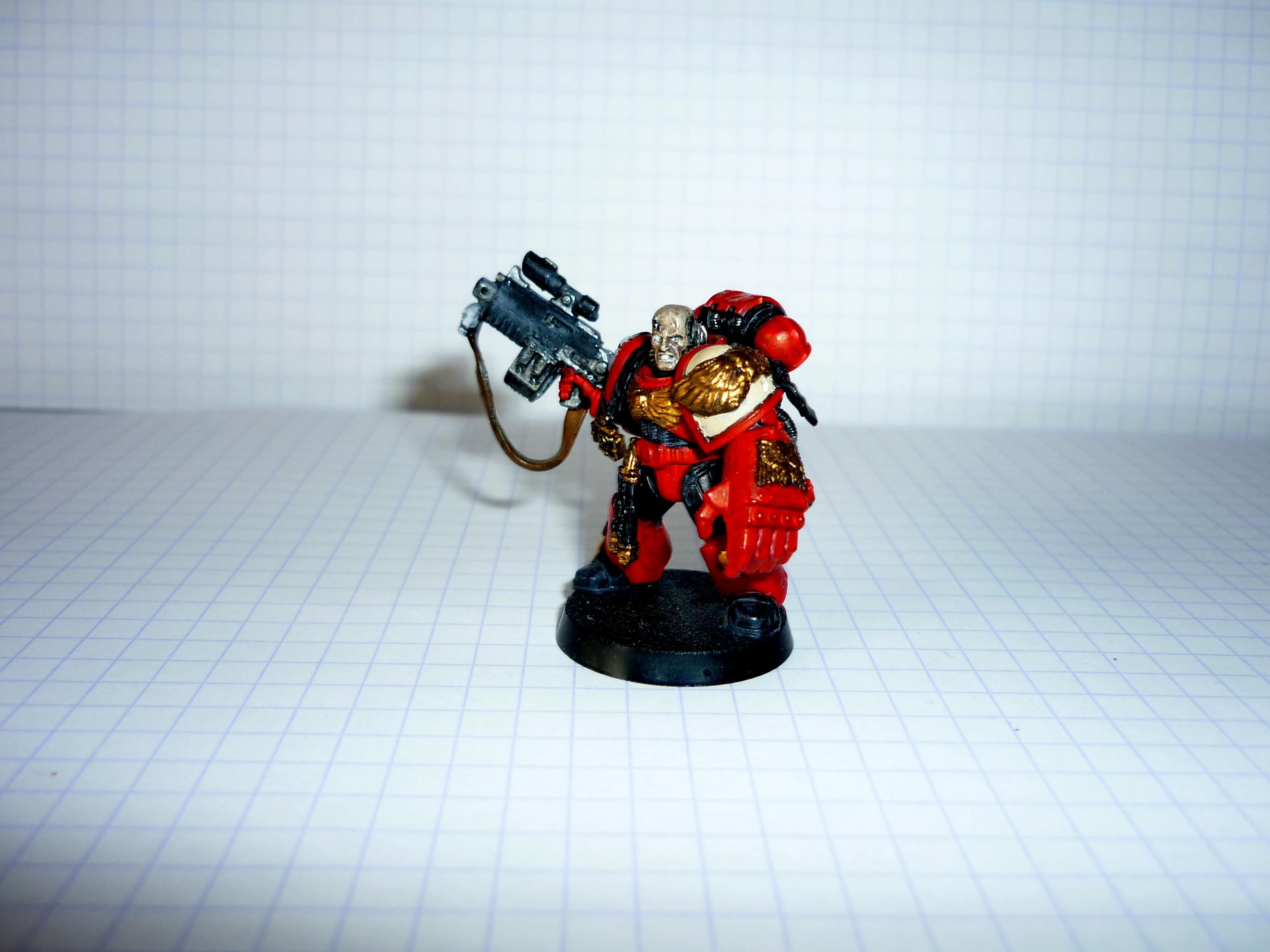 Sergeant, Space Marines