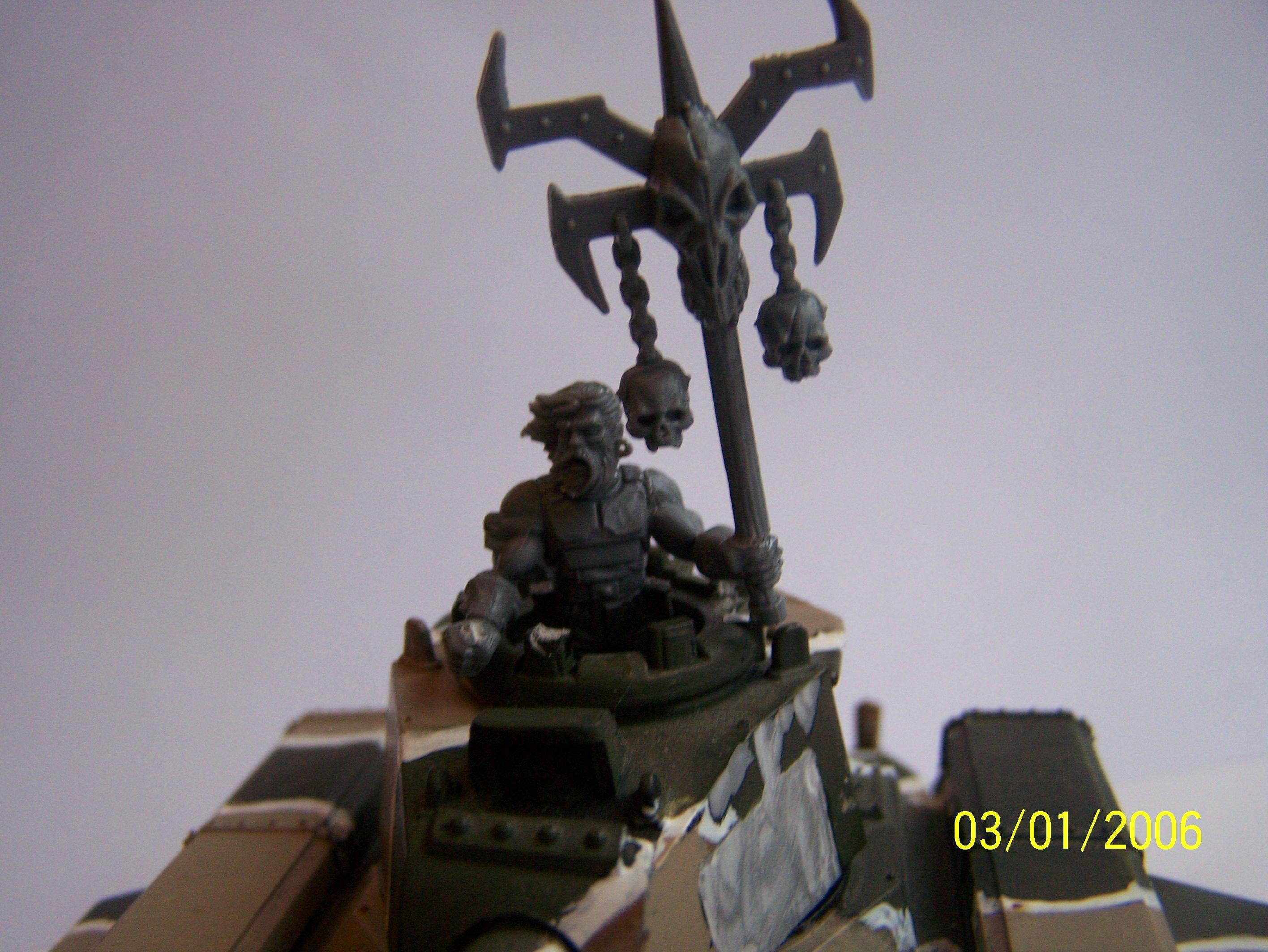 Khorne, Renegade Guard, Tank, Traitor Guard, Warhammer 40,000, Work In Progress