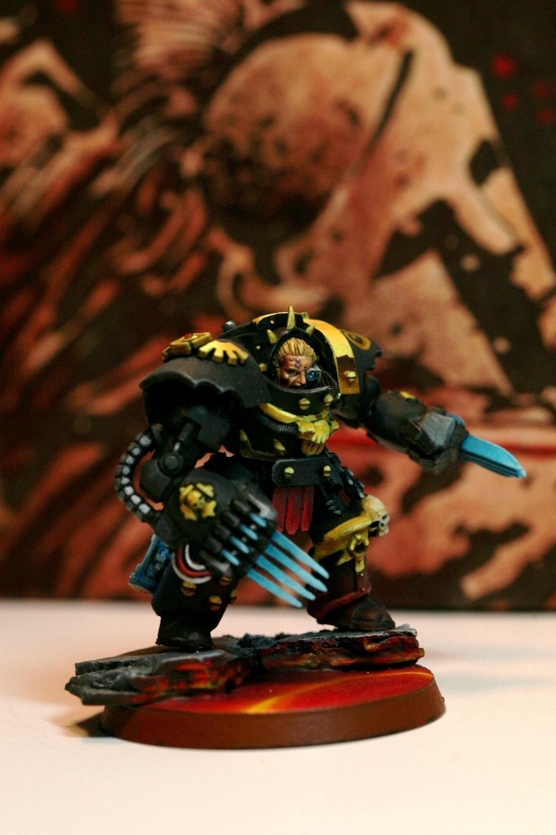 Deathwing, Horus Heresy, Lightning Claws, Preheresy, Terminator Armor