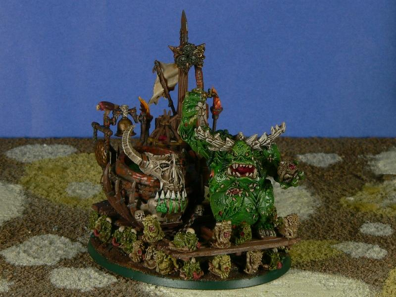 Daemons, Great Unclean One, Nurgle, Nurglings