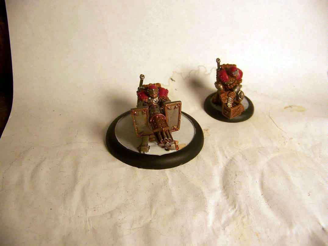trencher chain gun unit