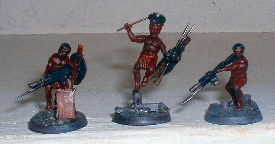 Imperial Guard, Wargames Factory, Warhammer 40,000, Zulu, Zulus