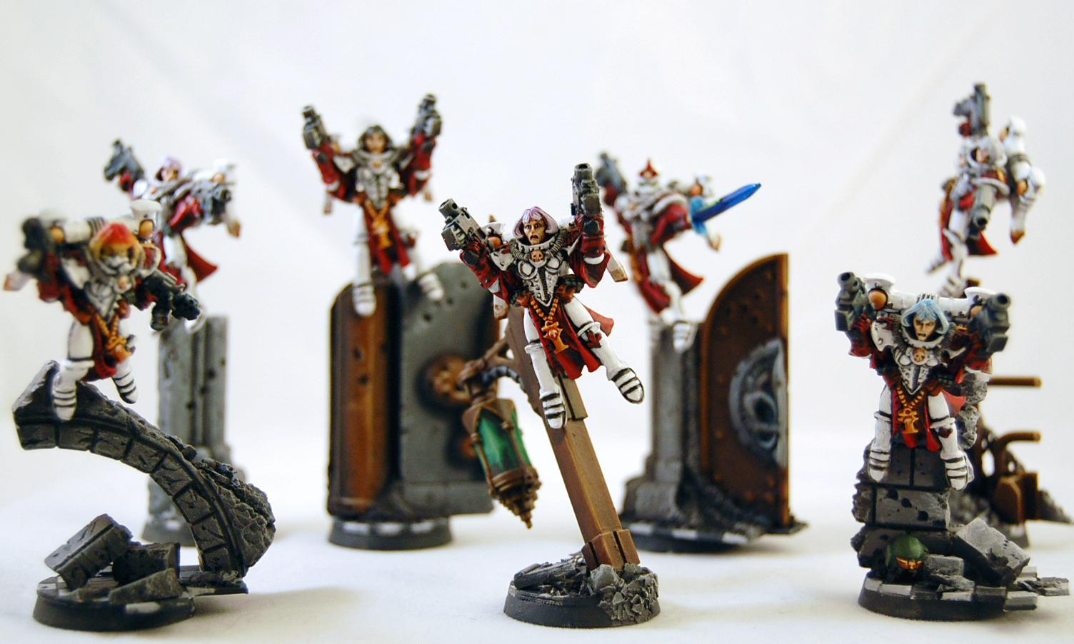 Seraphim, Sisters Of Battle, Witch Hunters
