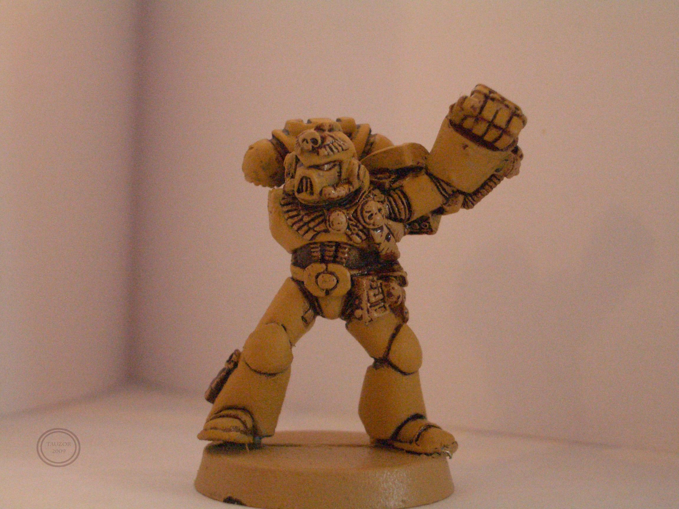 Imperial Fists, Warhammer 40,000, Work In Progress, Yellow Space Marines
