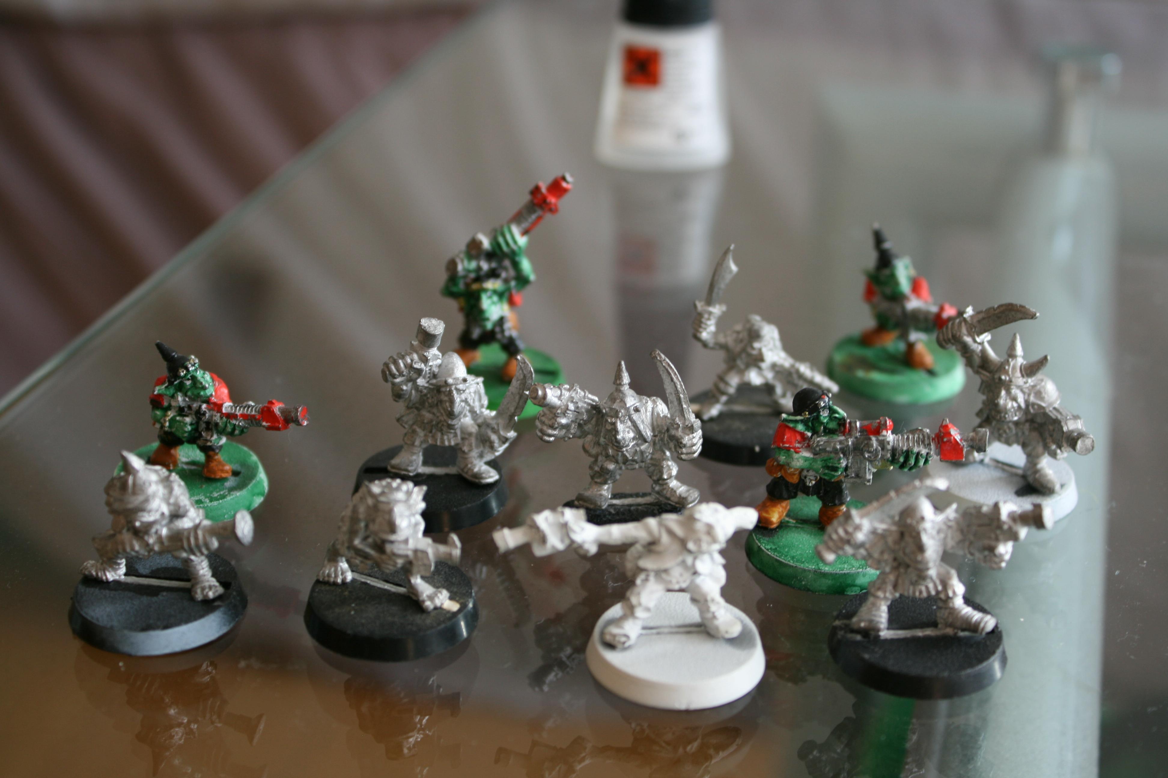 Army, Orks, gretchins