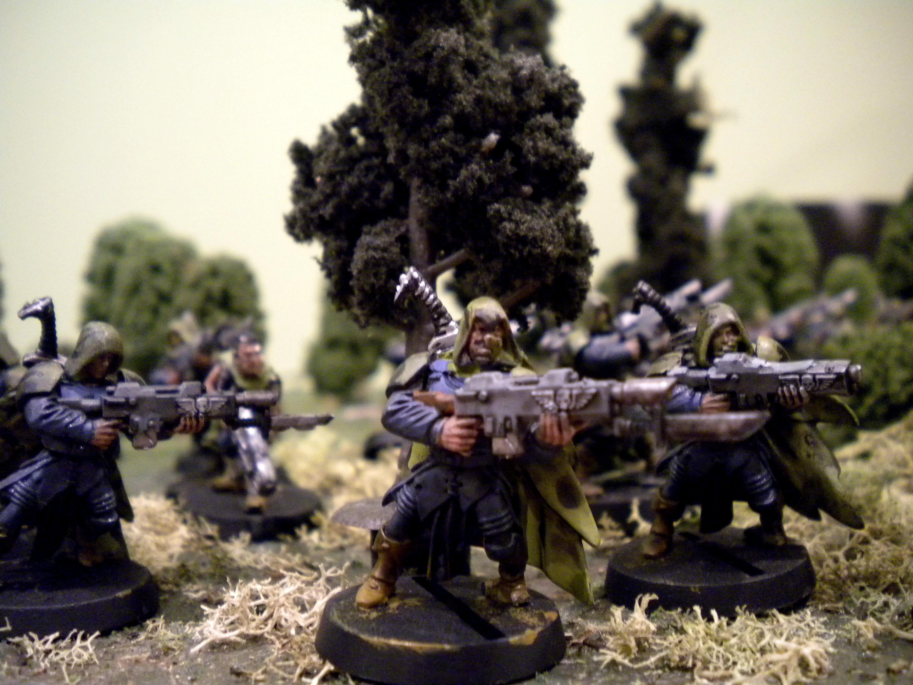 Gaunt's Ghosts, Imperial Guard, Tanith