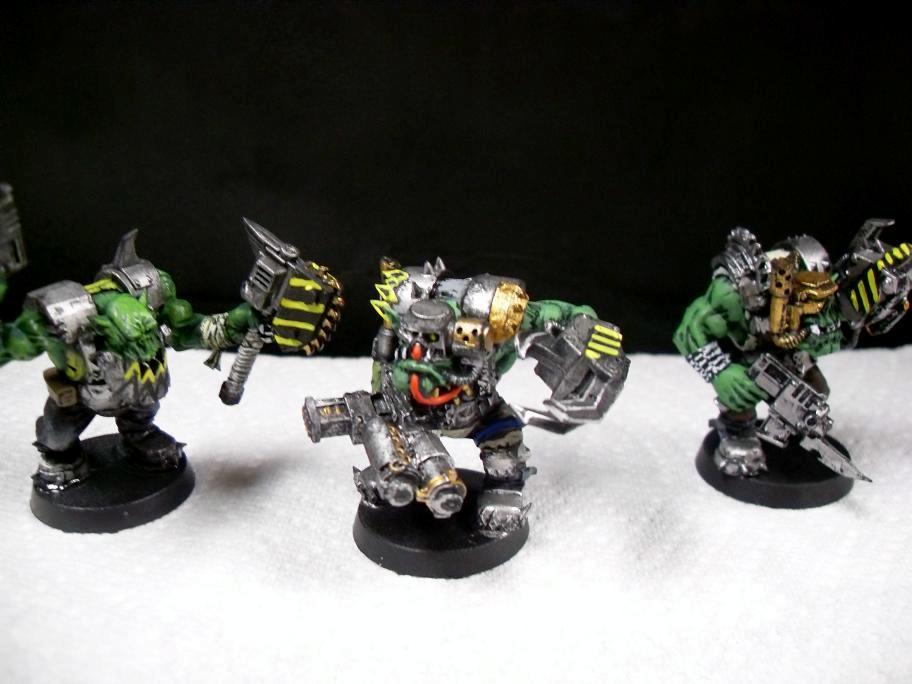 Metal, Nob, Orks, Steel, Warhammer 40,000