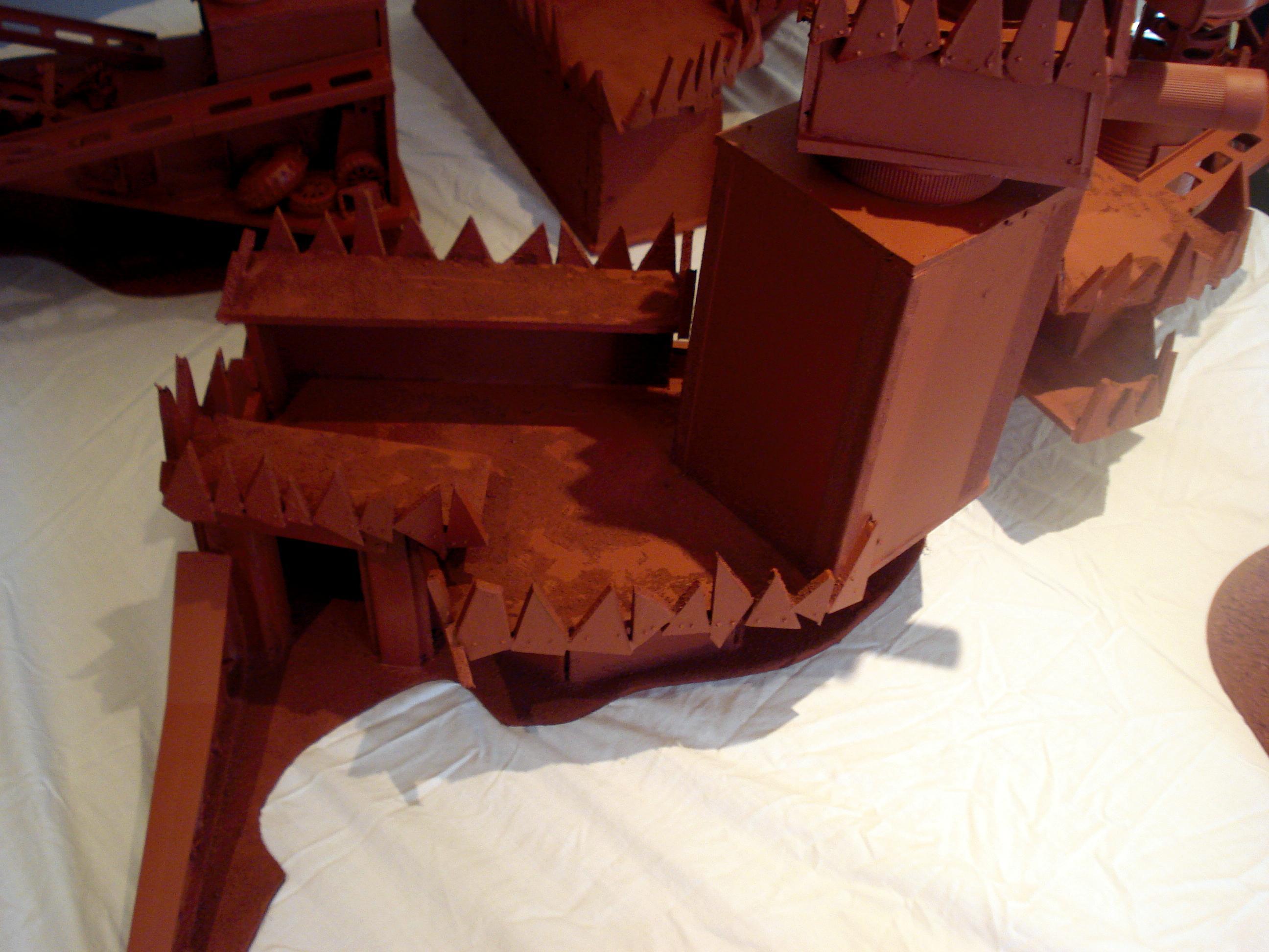 Buildings, Fort, Orks, Ruin, Terrain