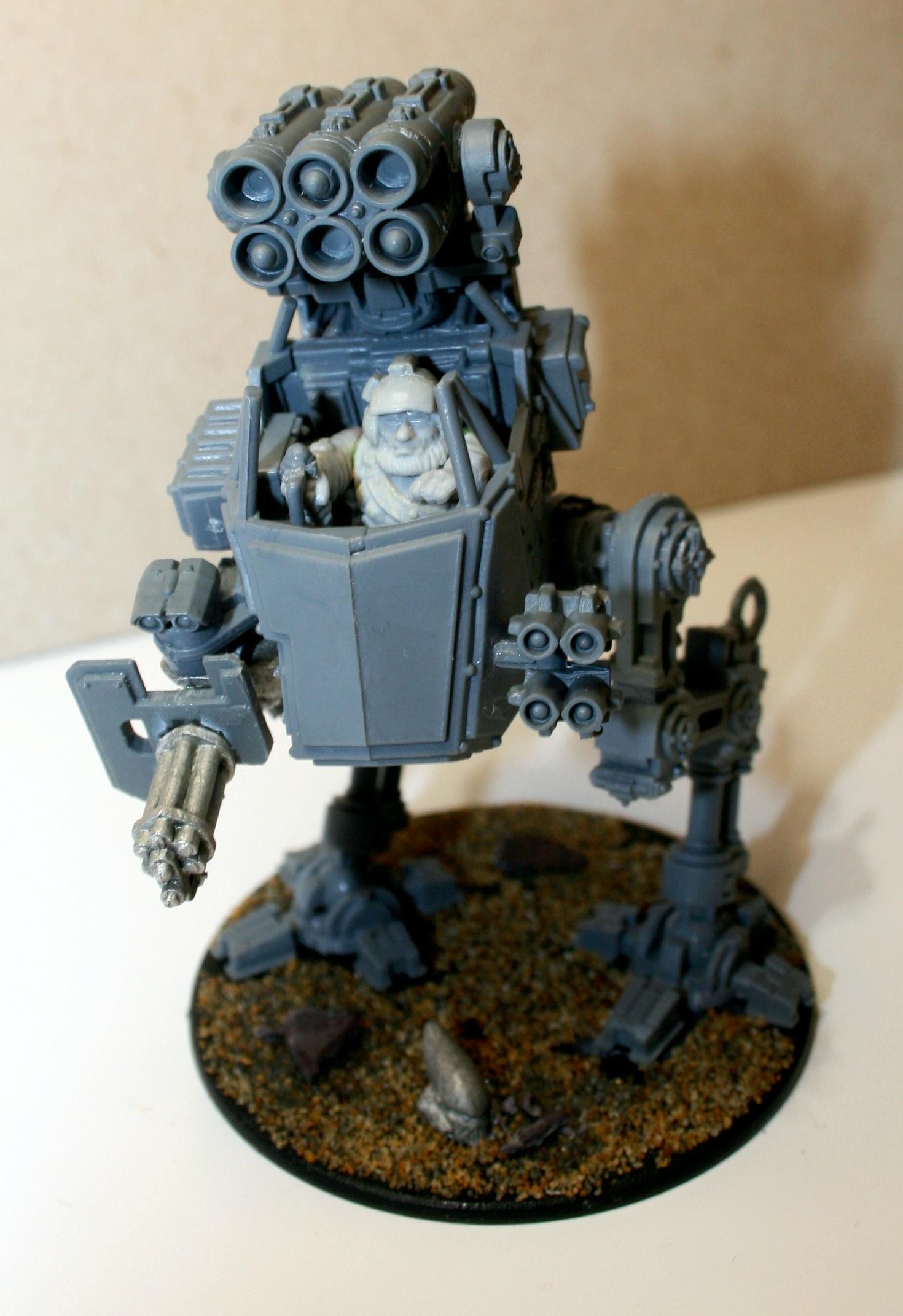Sentinel, Squats, Warhammer 40,000, Work In Progress