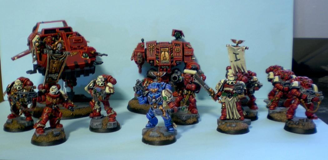 Blood Ravens, Space Marines, Strike Force, Warhammer 40,000