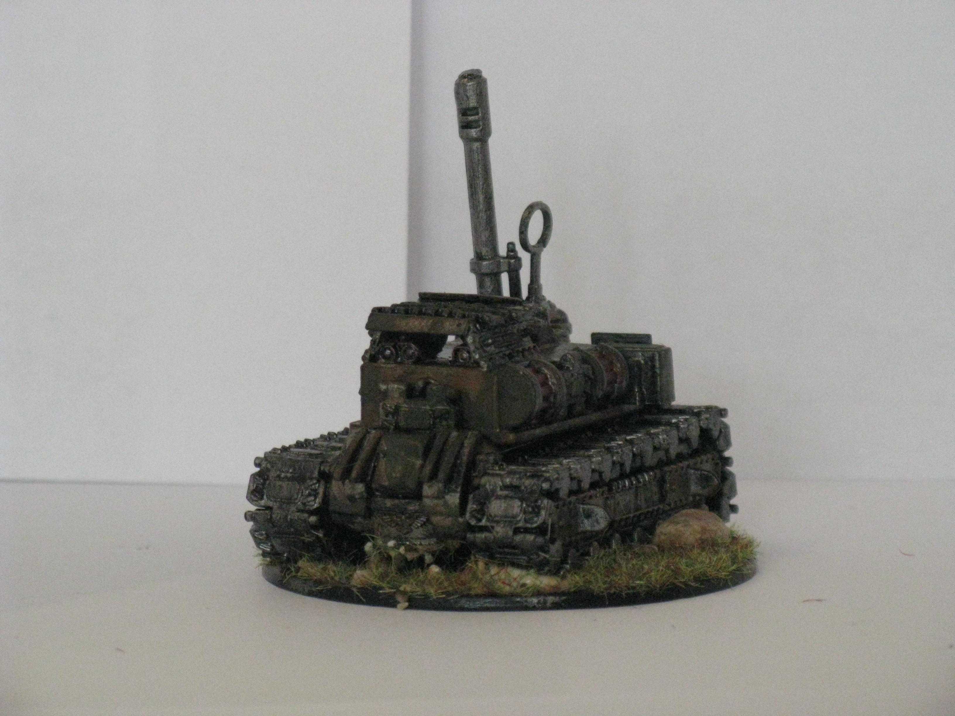 Cyclops, Guard, Here Is My Killdozer I Made After Playing To Much Coh!!! My Favorite Thing About This Is The Protected Optics On The Front!!!, Killdozer, Orks