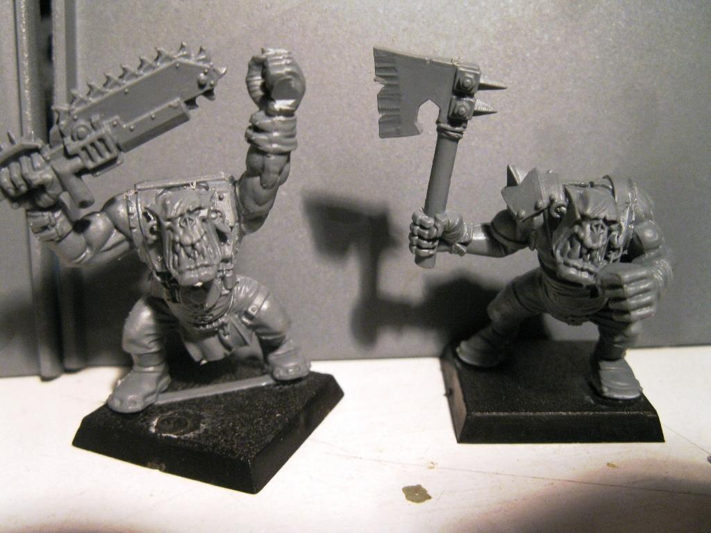 Lost Boys, Orks, Painting