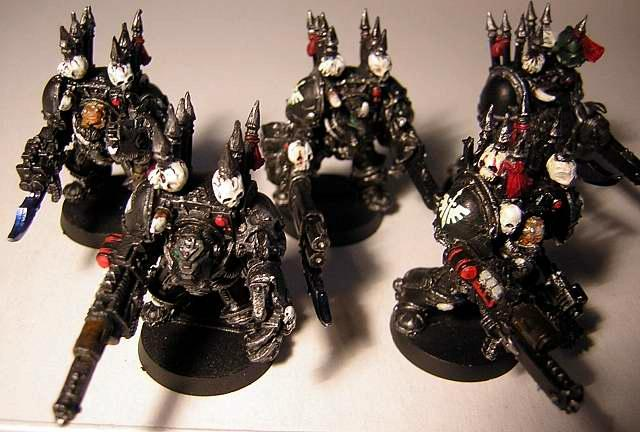Chaos, Dark Angels, Fallen Angel, Terminator Armor