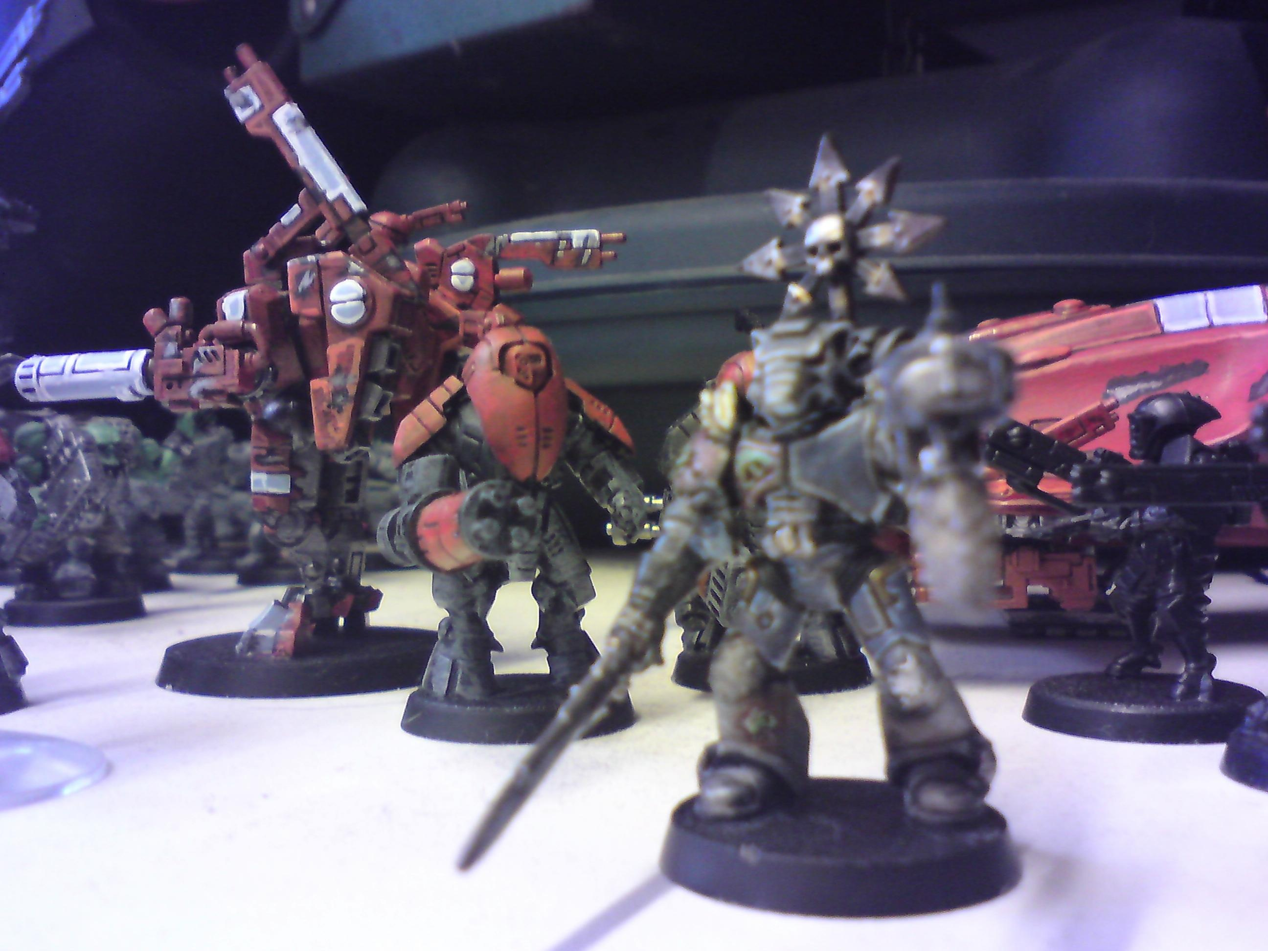 Blurred Photo, Space Wolves