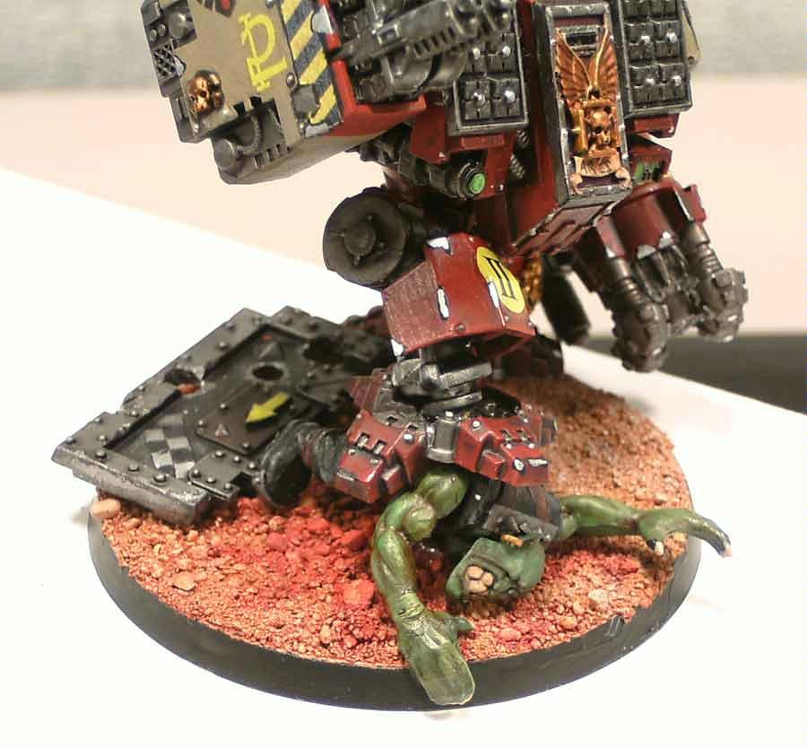 Blood Ravens, Dreadnought, Ironclad, Space Marines