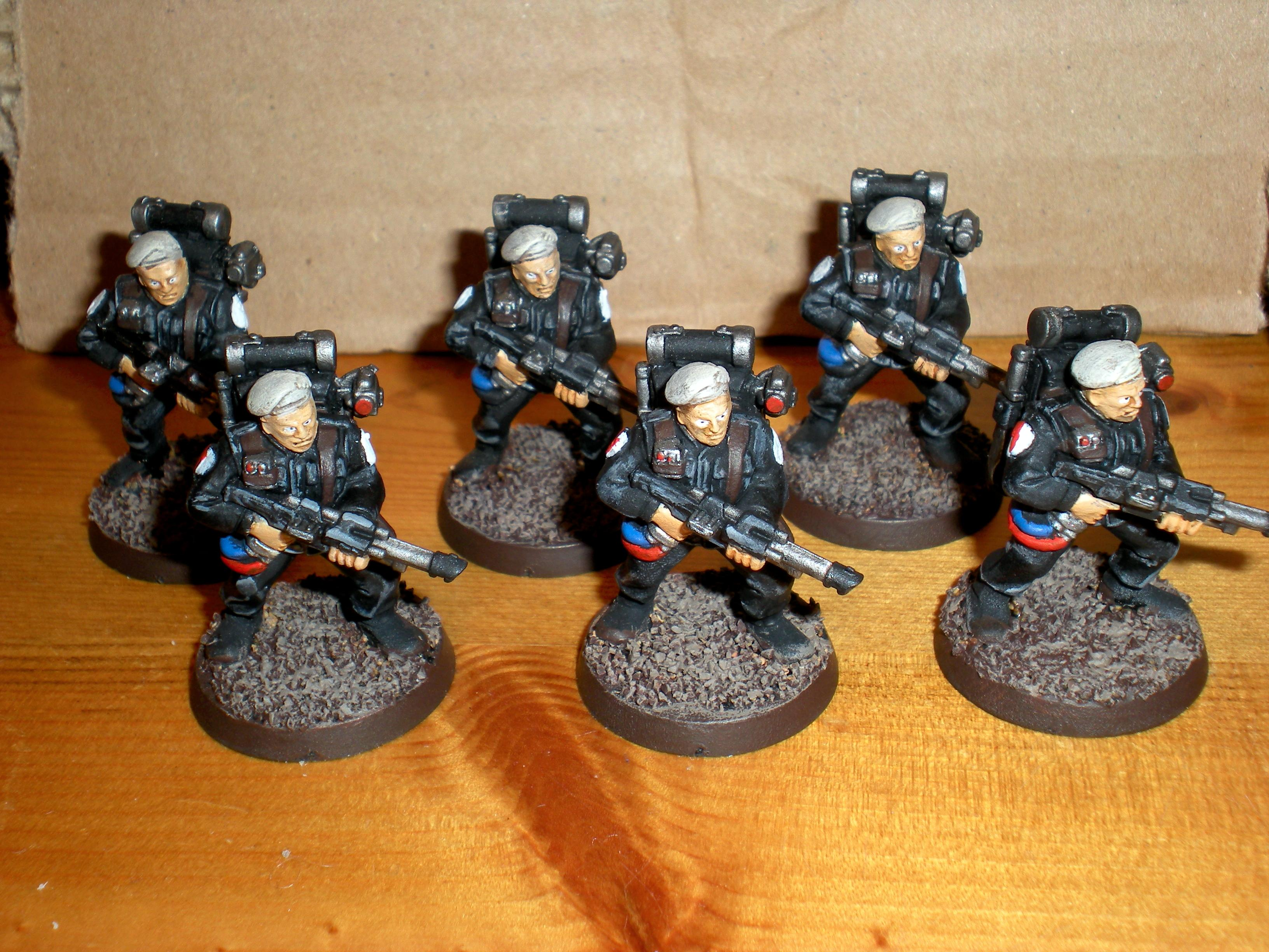 Cadians, Imperial Guard, Storm Troopers, Warhammer 40,000