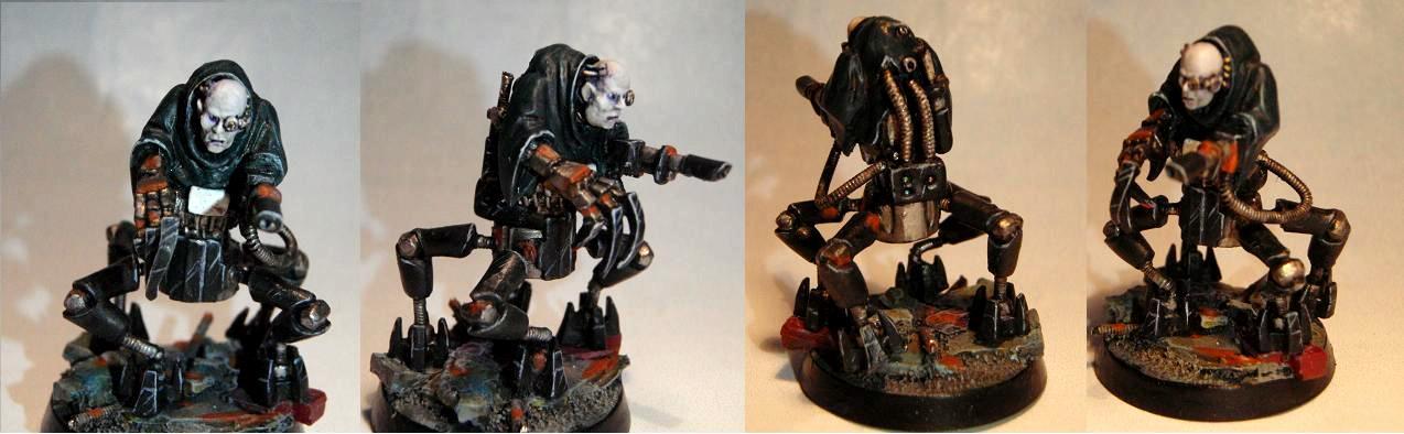 Cyborg, Necromunda, Servitors