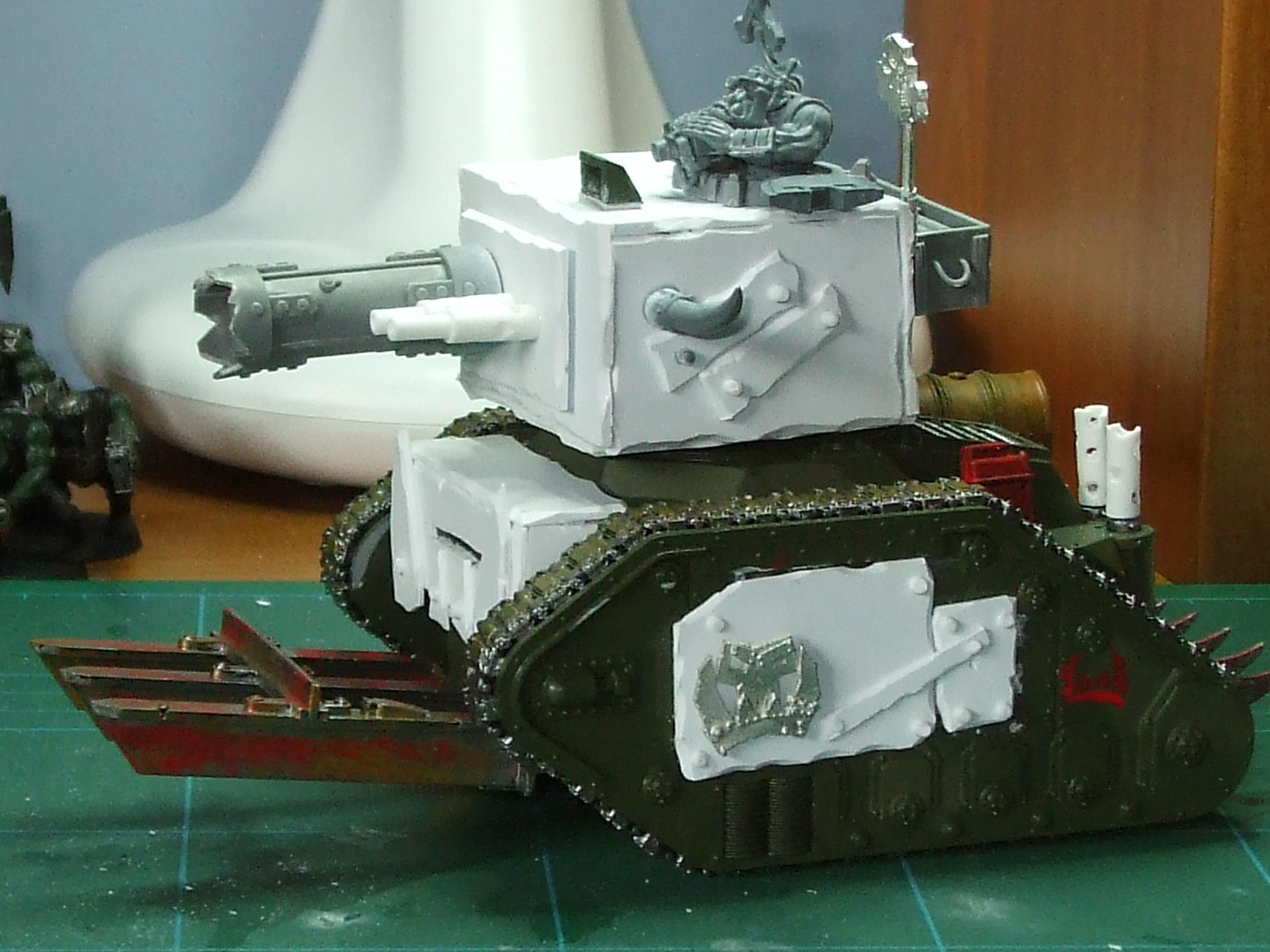 Conversion, Leman Russ, Orks, Tank