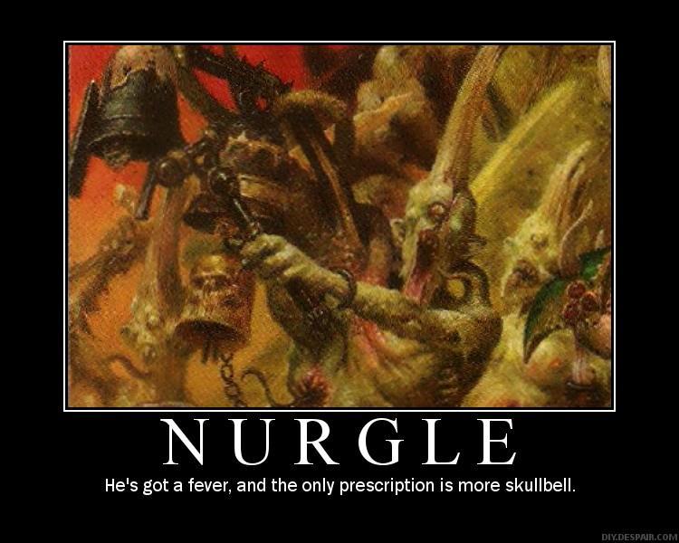 Daemons, Nurgle, Poster