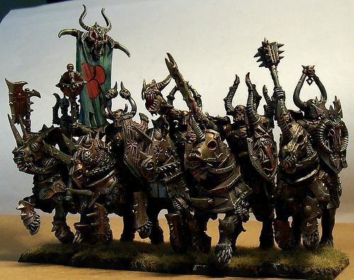 Chaos, Knights, Nurgle