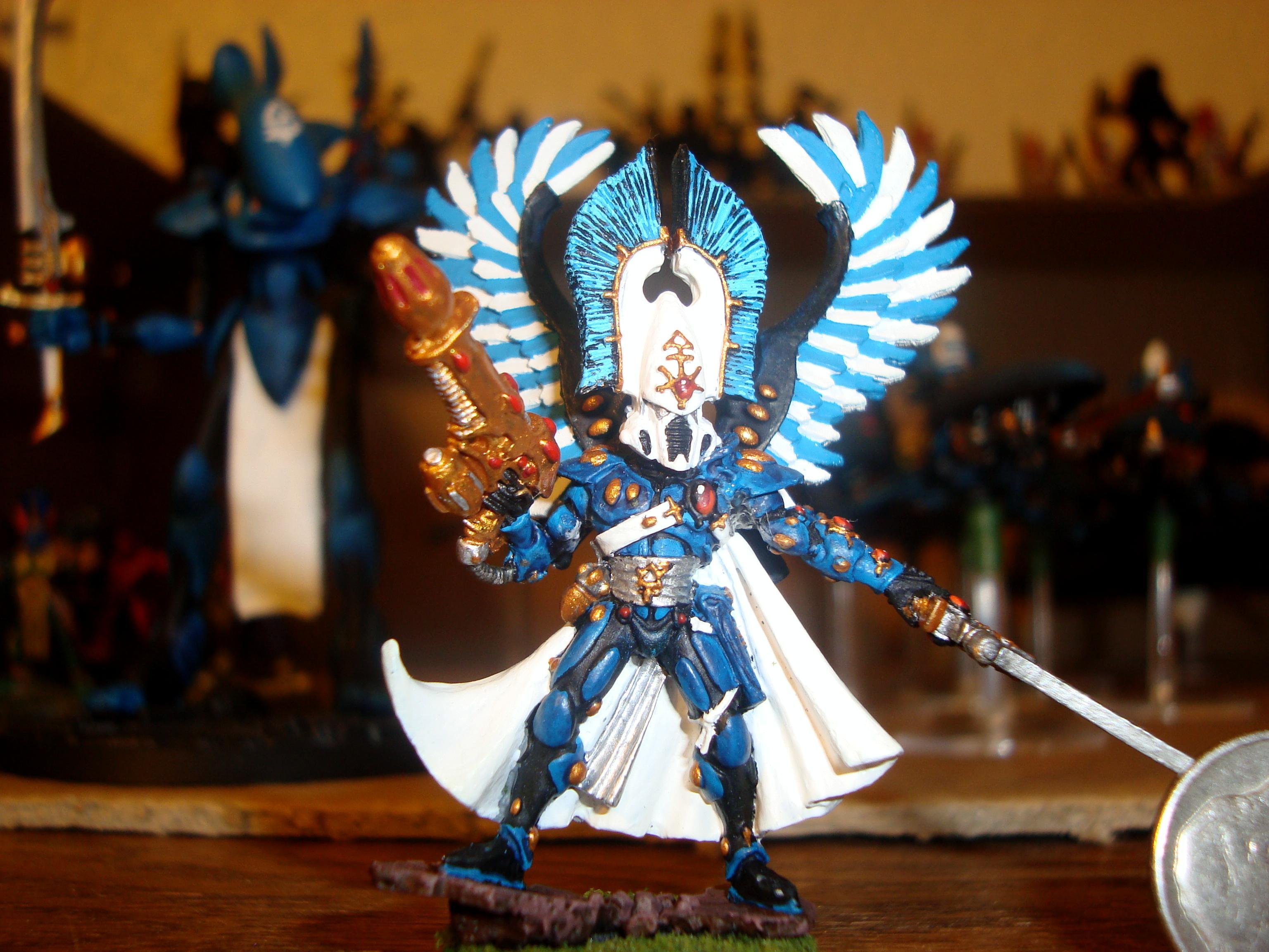 Autarch, Eldar, Swooping Hawks, Uaire-nem, Warhammer 40,000