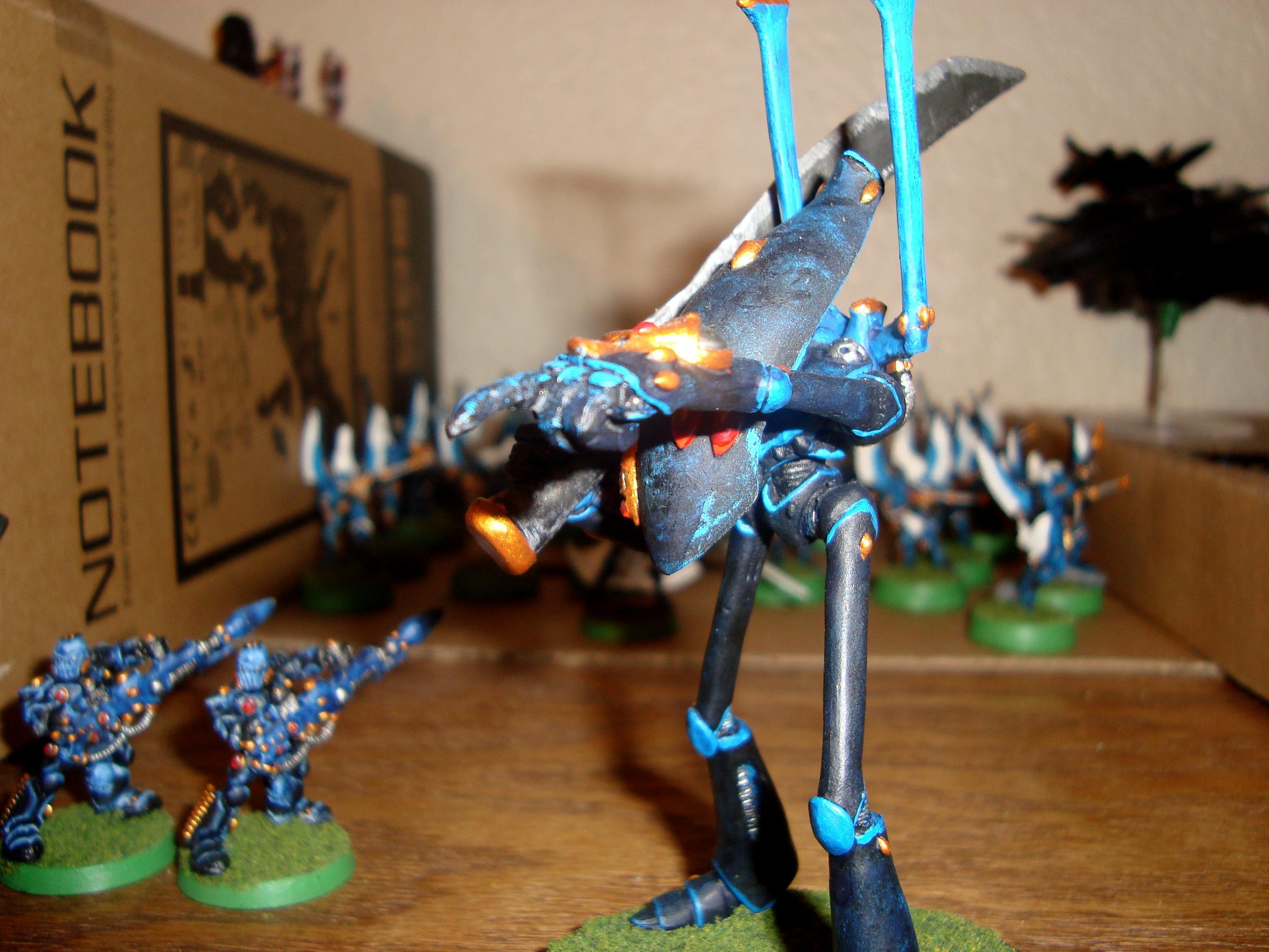 Conversion, Eldar, Uaire-nem, Warhammer 40,000, Wraithlord