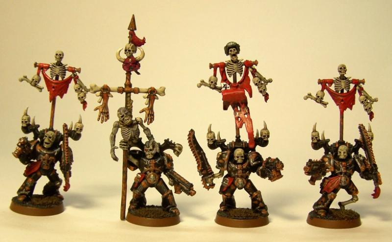 Chaos Space Marines, Icon Bearers