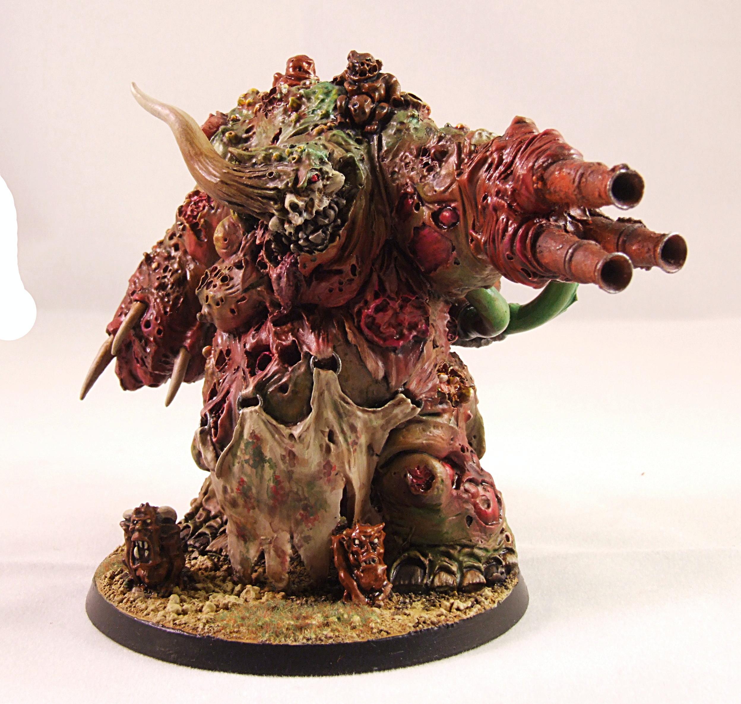 Daemon Prince, Greater Daemon, Nurgle