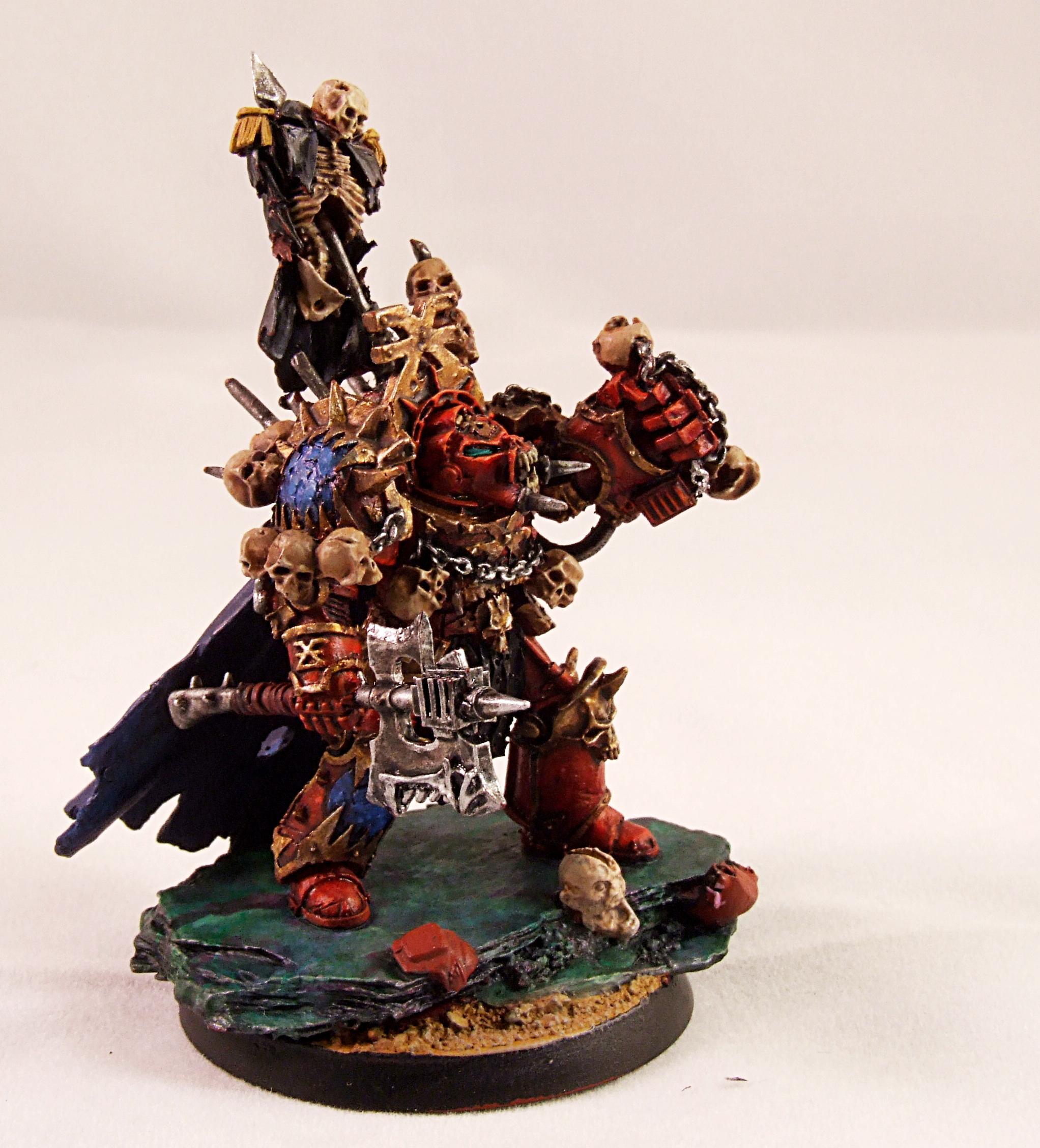Chaos Space Marines, Forge World, Khorne, Khorne Beserker, Warhammer 40,000, Zhufor