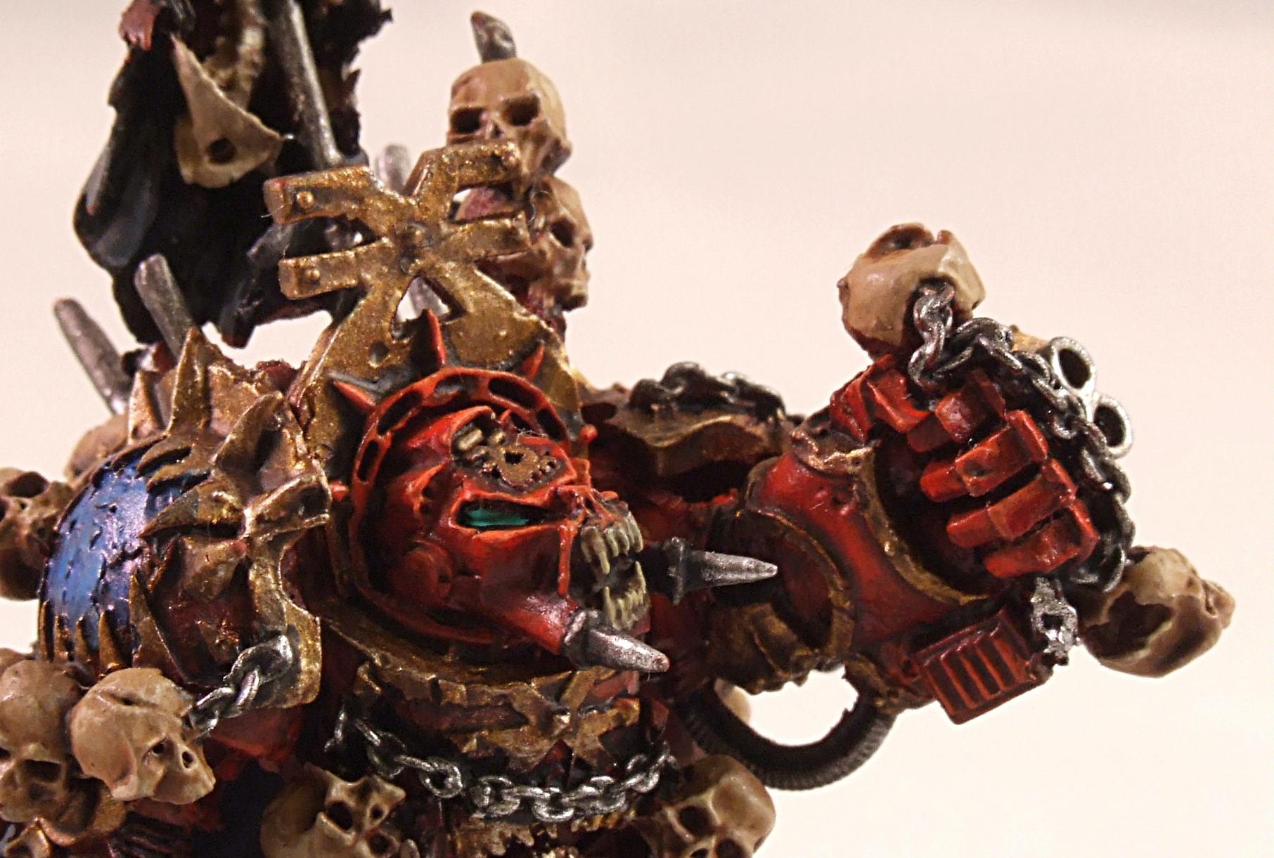 Chaos, Chaos Space Marines, Forge World, Khorne, Khorne Beserker, Terminator Armor, Warhammer 40,000, World Eaters, Zhufor